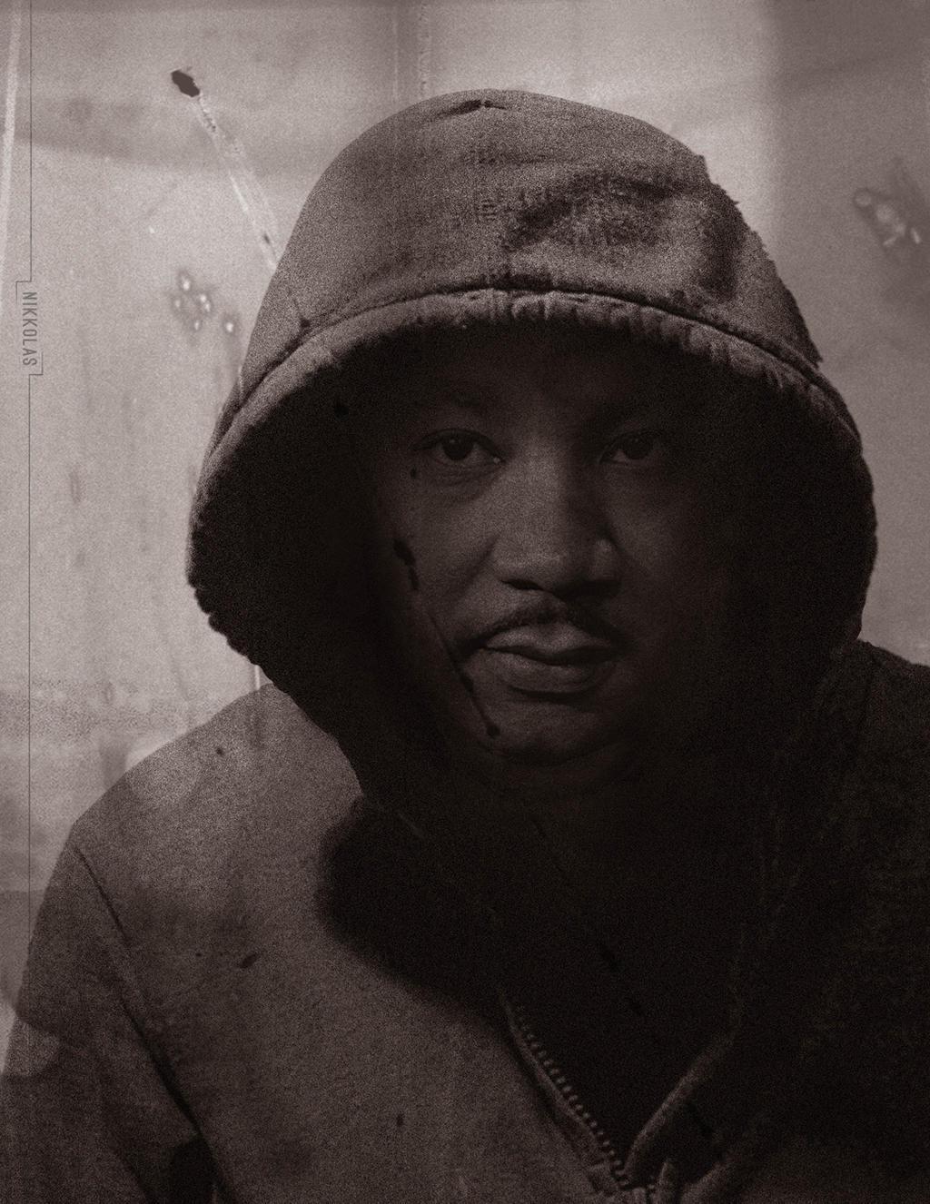 MLK Hoodie - April 4th, 1968 -Nikkolas Smith