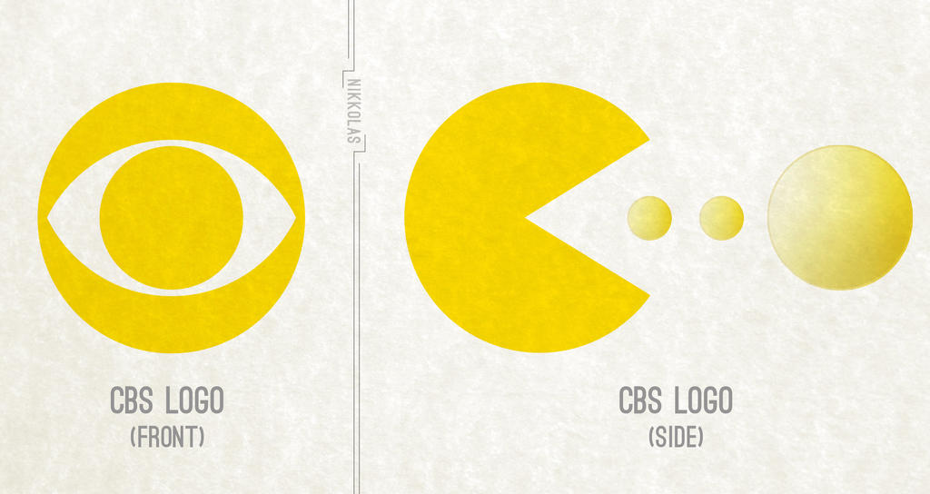 CBS = PAC MAN! by Nikkolas-Smith