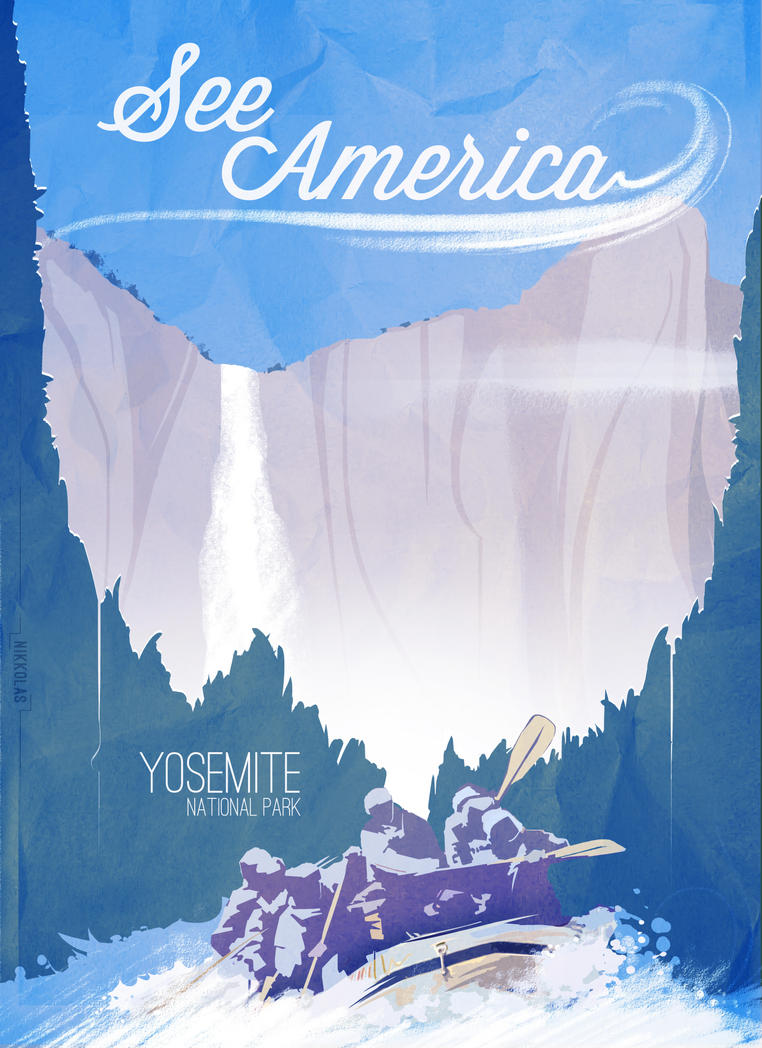 *See America!*  Yosemite National Park by Nikkolas-Smith