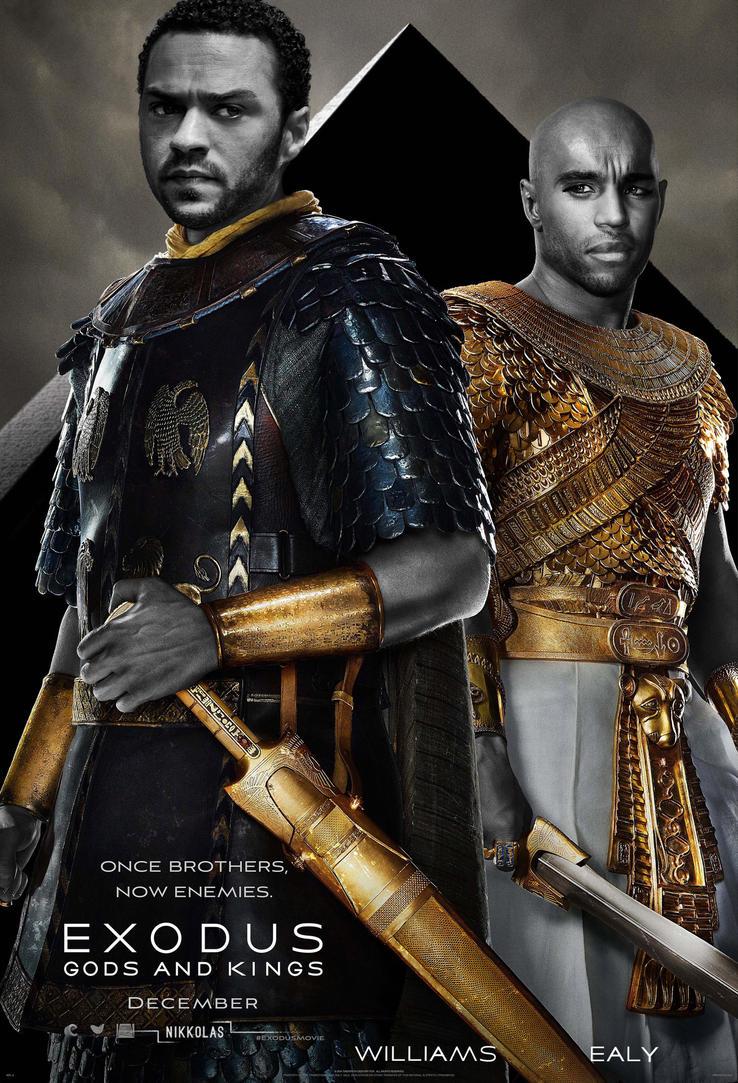 Exodus  Gods and Kings by NIKKOLAS by Nikkolas-Smith
