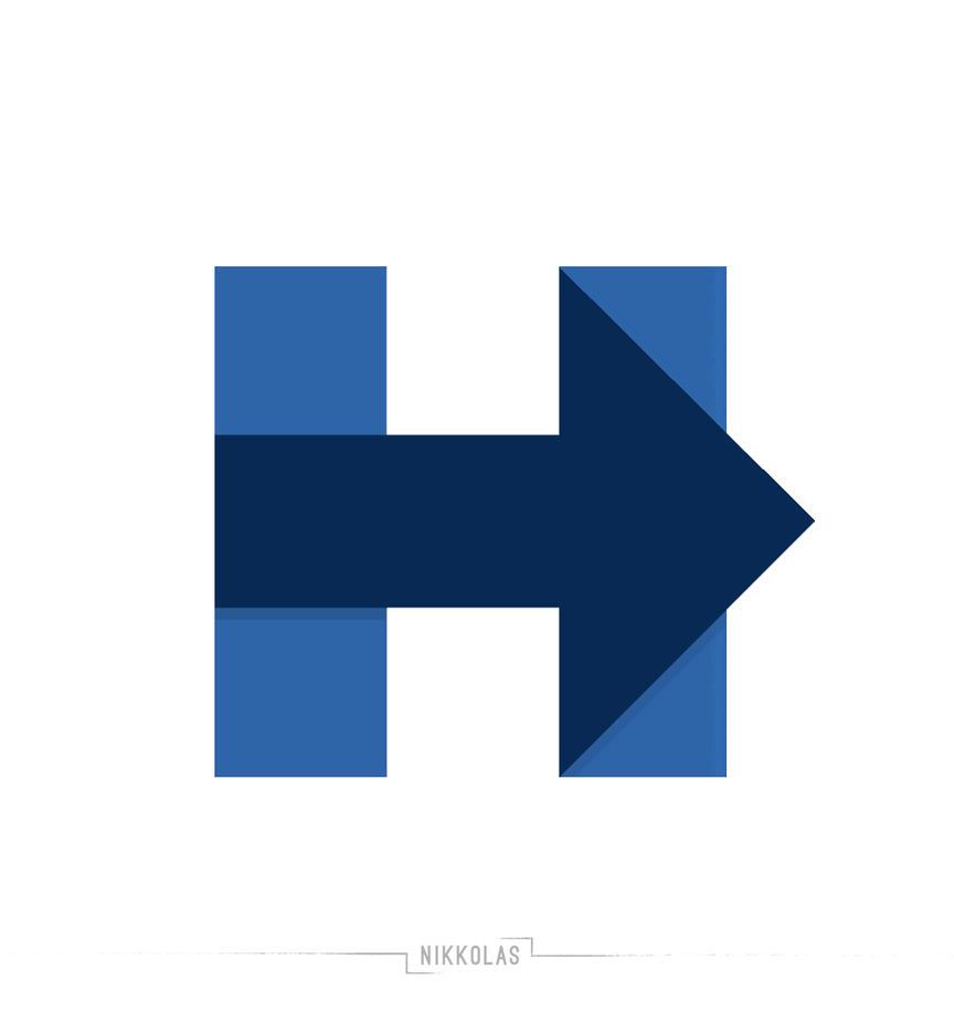 Hillary Clinton Logo refresh by Nikkolas by Nikkolas-Smith
