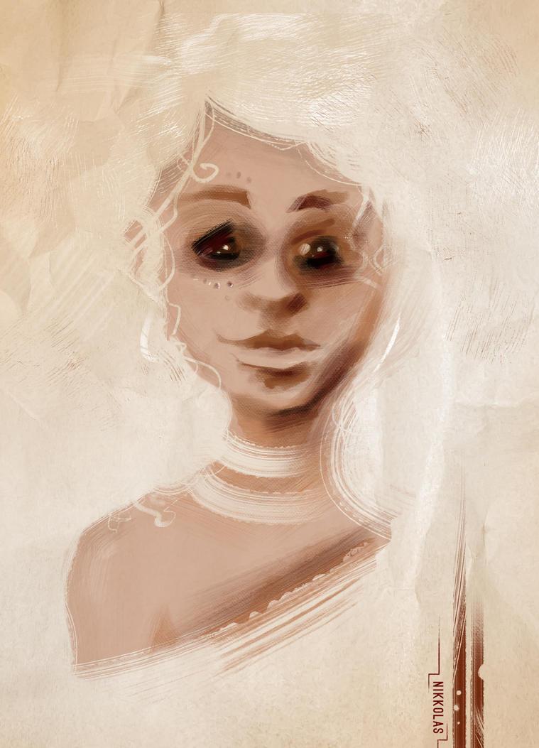 Koori girl by Nikkolas Smith by Nikkolas-Smith