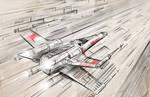 Star Wars X Wing by Nikkolas Smith