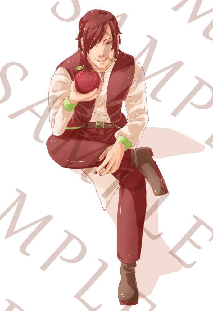 Mr. Apple by MoyoKamodzue