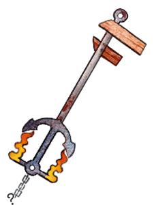 Unfinished Keyblade Idea by Tentalones