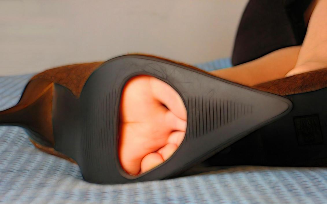Fetish sole shoe by 74-Giatrus by 74-Giatrus