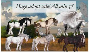 Huge horse adopt sale 2! Set price open by ZeeTheYeet