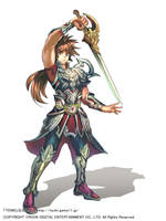 Tenki character - Sword by SuoniMac