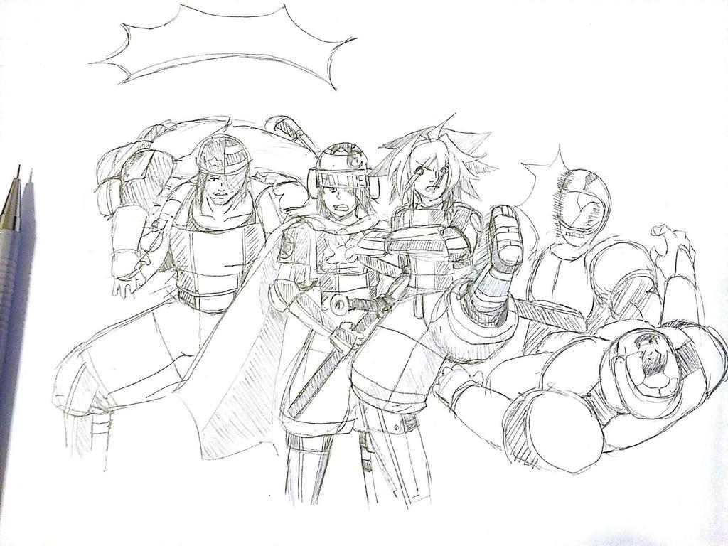 G-SWAT Rumble! by TFSU-Samano