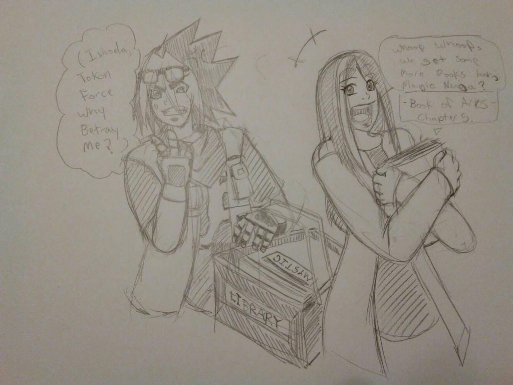 Contest! That's not How Tokon works. by TFSU-Samano