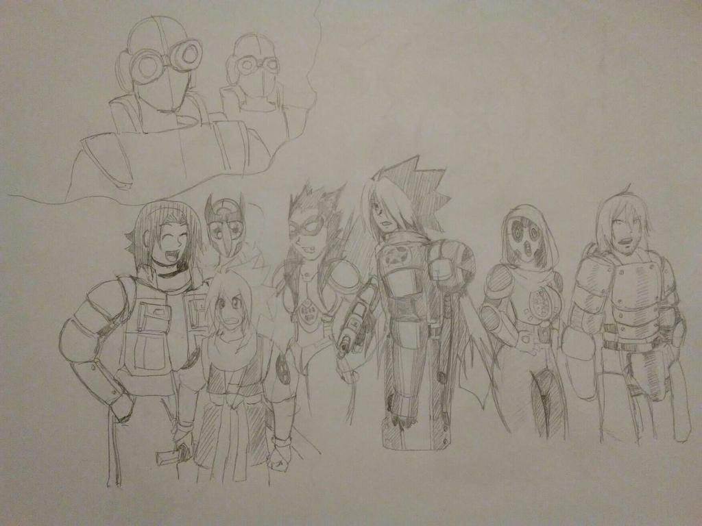 Allies and Young Hiro by TFSU-Samano