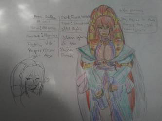 Ikana Rudda - The Golden Phoenix by TFSU-Samano