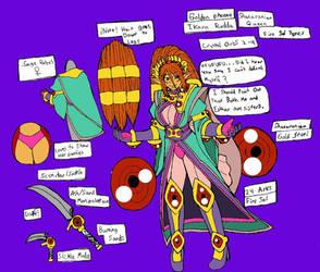 Golden Phoenix - Ikana Rhudda by TFSU-Samano