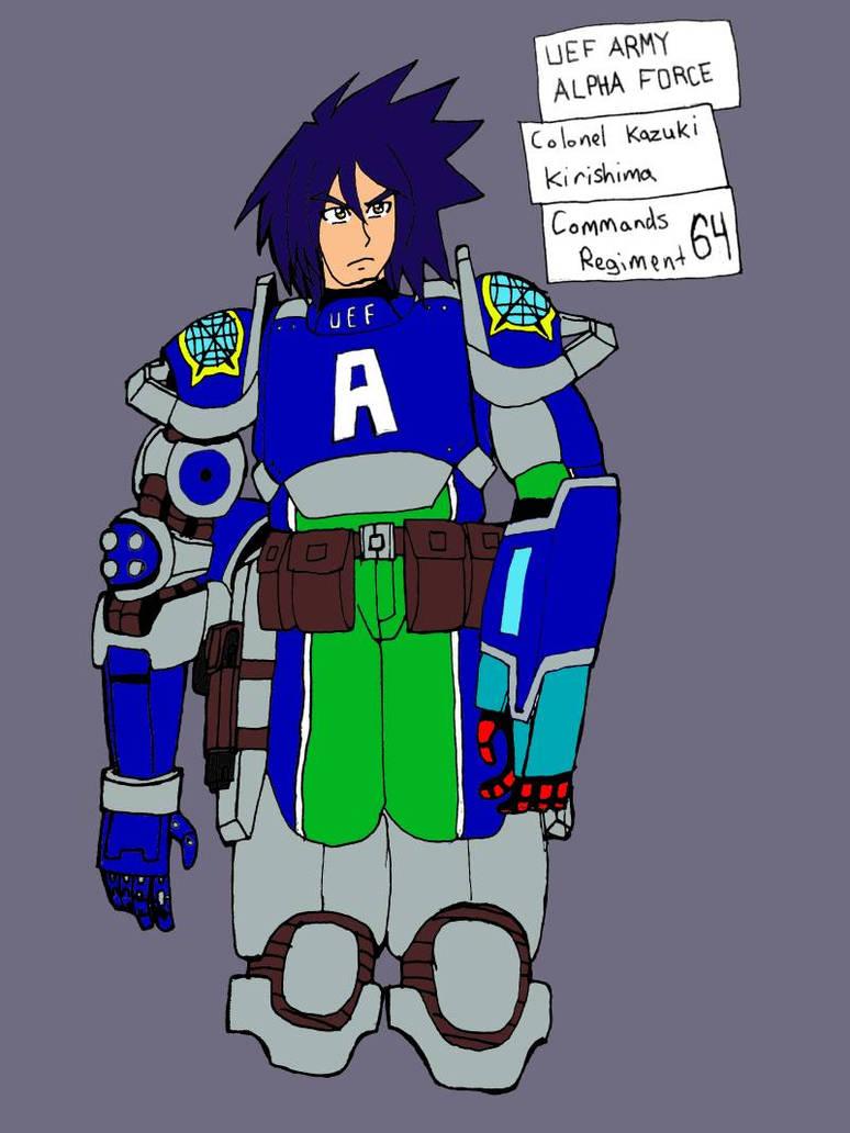 Colonel Kirishima by TFSU-Samano