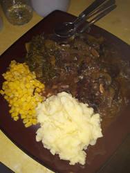 Dude and Wifeness Savage Dinner by TFSU-Samano