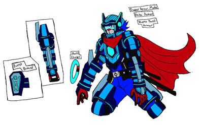 Meet Hiro's Hyper Burst Armor