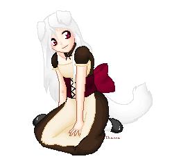 Akemi the Maid boy by JayPixels