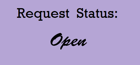 Request Status Open by JayPixels