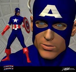 Captain America by 99Necron