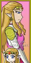 OoT Bookmarks - Zelda