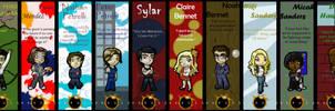 Heroes Bookmarks