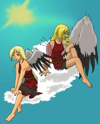 Flightless Girl, Fallen Angel by BeCeejed