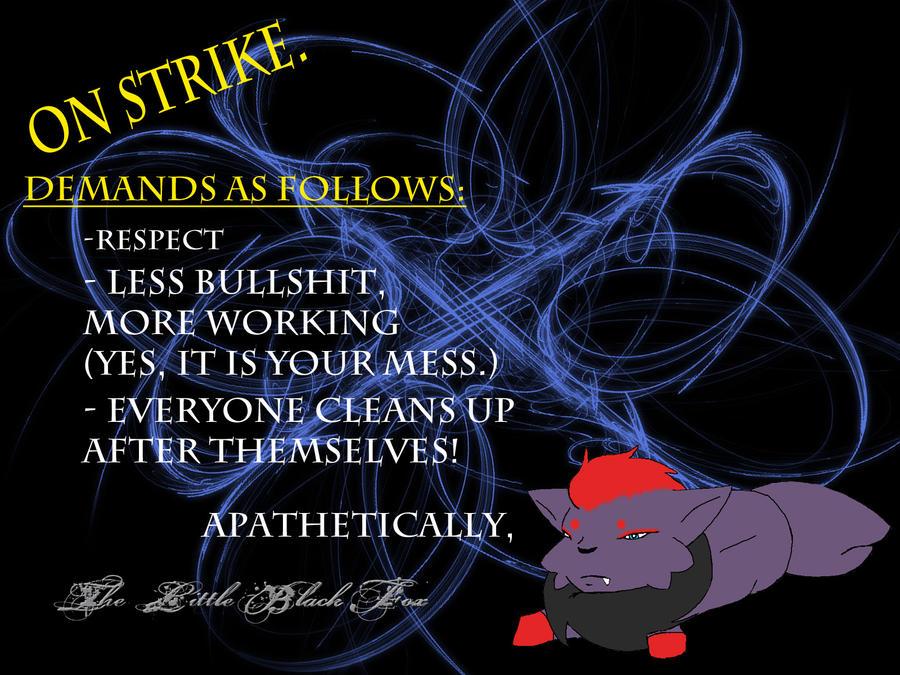 Lil Black Fox... on Strike by Night-Shadow405