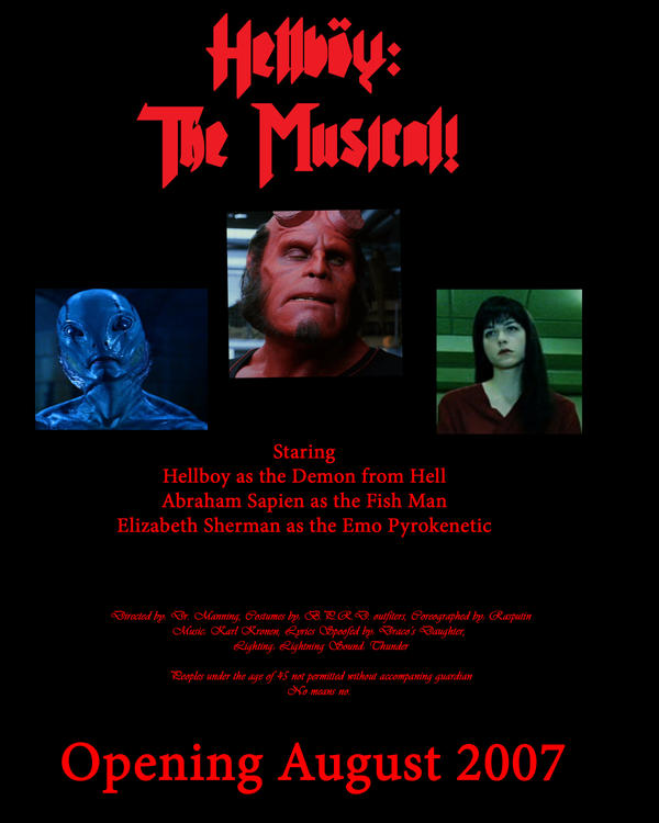 Hellboy: The Musical by Night-Shadow405