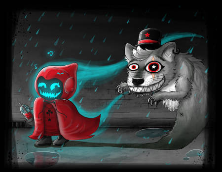 Red Riding Hood and the CRAZY Wolf