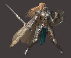 Knight by gacktmoon