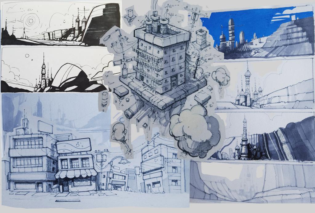 SketchbookDump02 by LukeViljoen