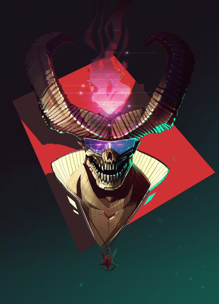 Laser Demon by LukeViljoen