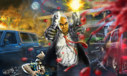 Hitman Absolution: Attack of the legend...
