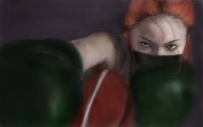 Boxing Girl by ParisienneForEver