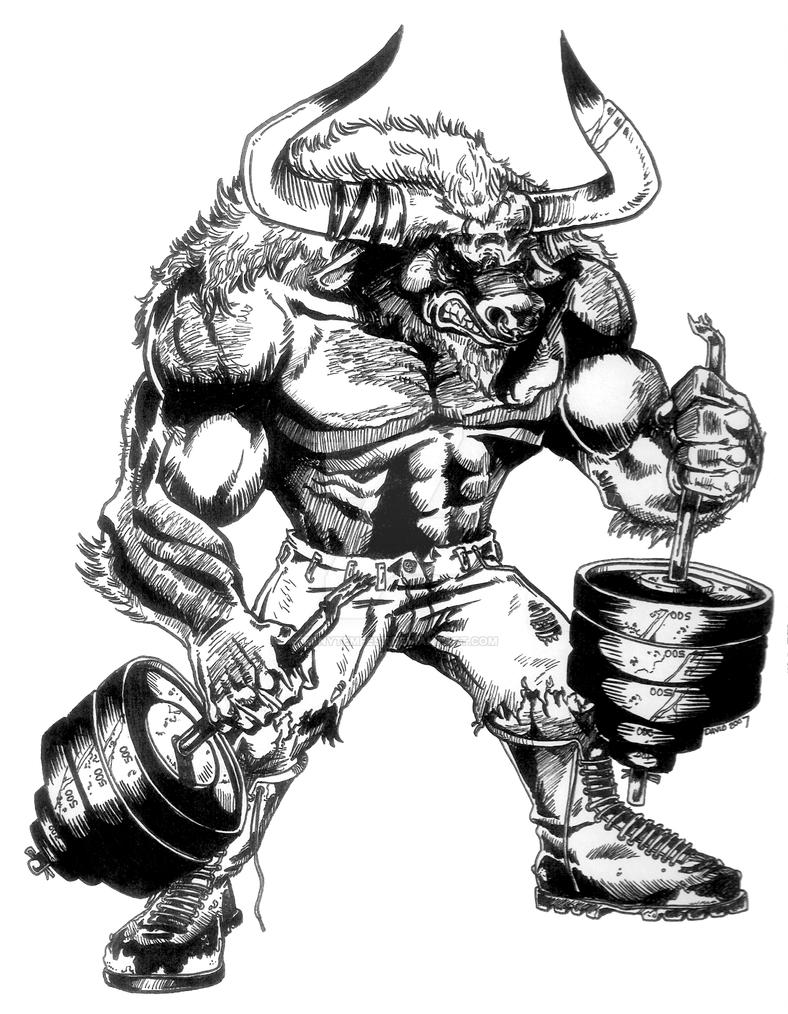 Great White Shark Coloring Page further Outlaw cowboy skull further Freetattoodesigns org images tattoo Gallery howling Wolf Head moreover Minotaur Gym 271336723 together with 487373990899189846. on scary bull logo
