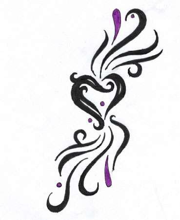 heart tattoo design by dark wh1sp3rs on deviantart. Black Bedroom Furniture Sets. Home Design Ideas