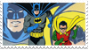 Batman and Robin | Stamp. by MagaliMostacho