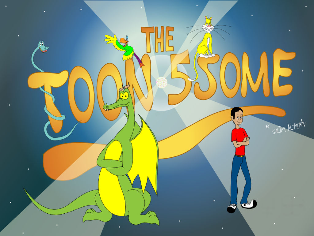 The Toon 5some Intro Screenshot #2