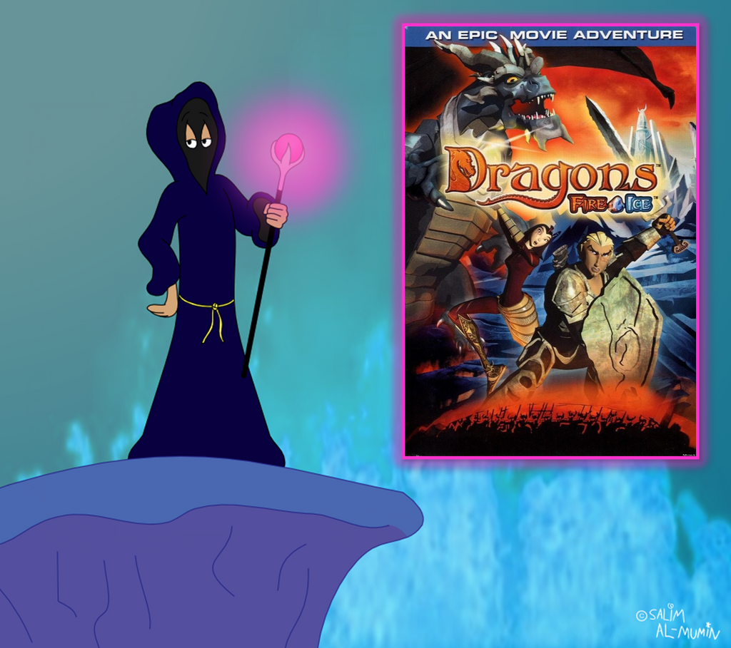 Cloaked Critic Reviews Dragons-Fire + Ice By
