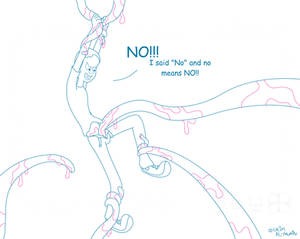 No Means No! (lineart)