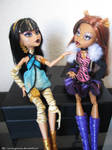 Talking about Fashion ft Cleo and Clawdeen