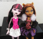 Clawdeen and Drac