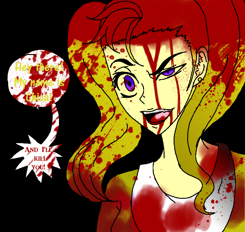 Five night at freddys chica by beautifulflowerz on deviantart