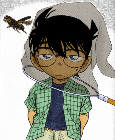 Detective Conan coloration 2 by Tuzikopalo