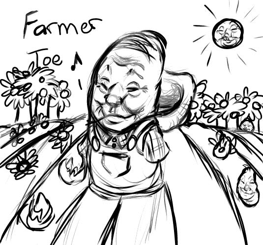 Farmer Toe by ZekoWolff