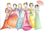 19th century dresses