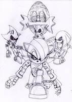 The Metal Series Eggman RULES by DarkHedgehog23