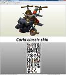 Corki classic skin