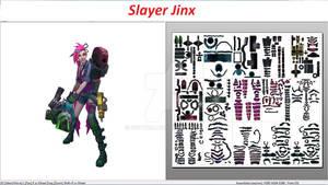 Slayer Jinx minigun schema