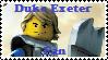 Duke Exeter Fan Stamp by BobBricks